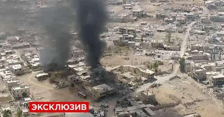 Бандиты и террористы покидают ещё один город на юге Дамаска
