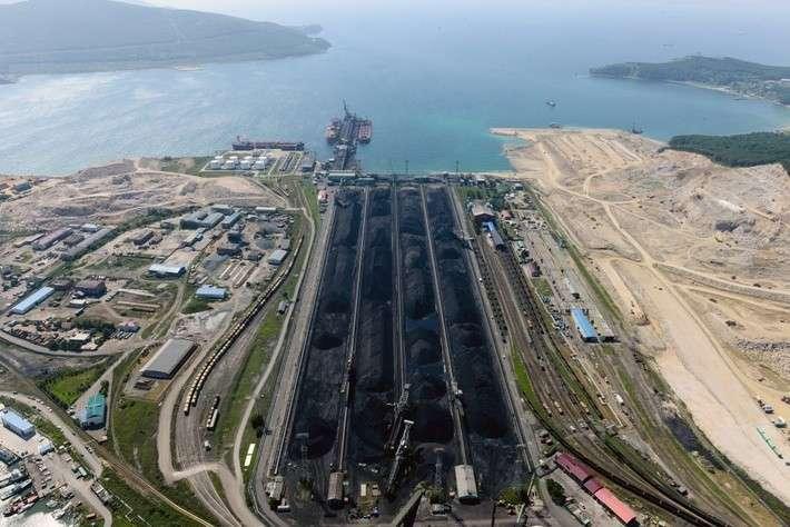 В Приморском крае завершено строительство причала третьей очереди угольного терминала