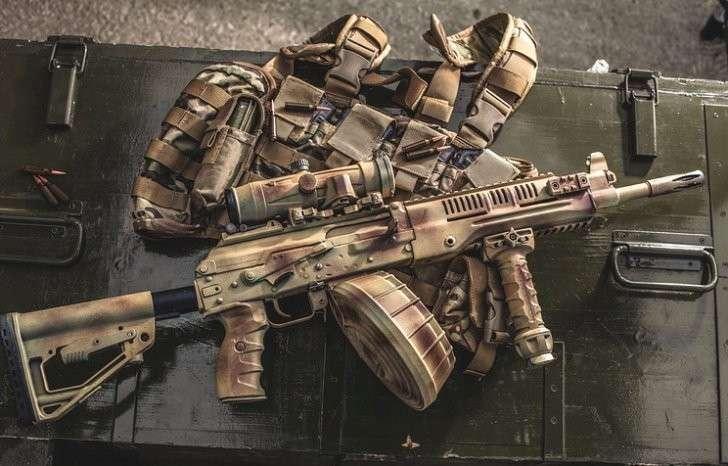 Легкий ручной пулемет Калашникова РПК-16