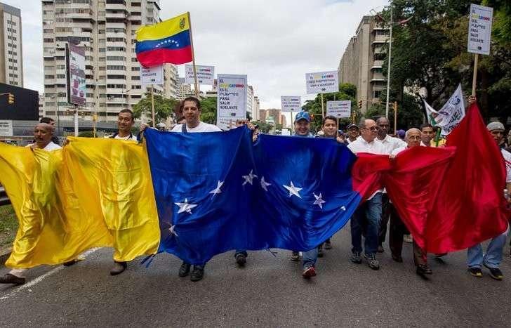 Американцы готовят переворот в Венесуэле: оппозиция выводится на улицы