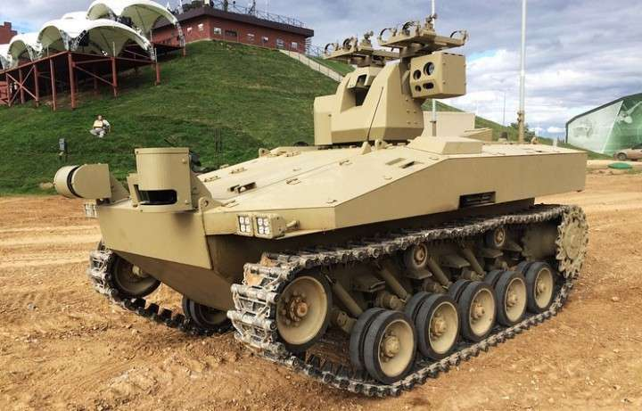 Концерн «Калашников» создал нового робота для армии России