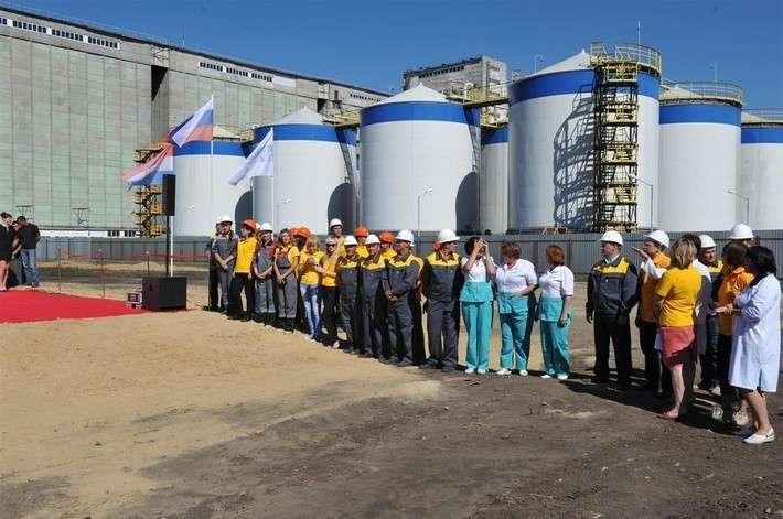 8. В Самарской области начато строительство цеха по производству подсолнечного масла Сделано у нас, политика, факты