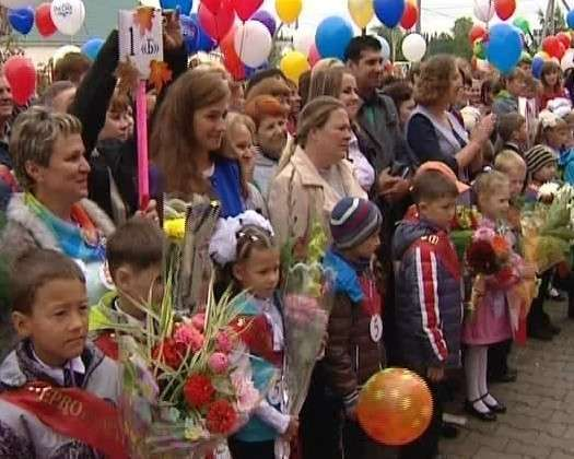 В Междуреченском открыли новую школу 1 сентября, Сделано у нас, школа