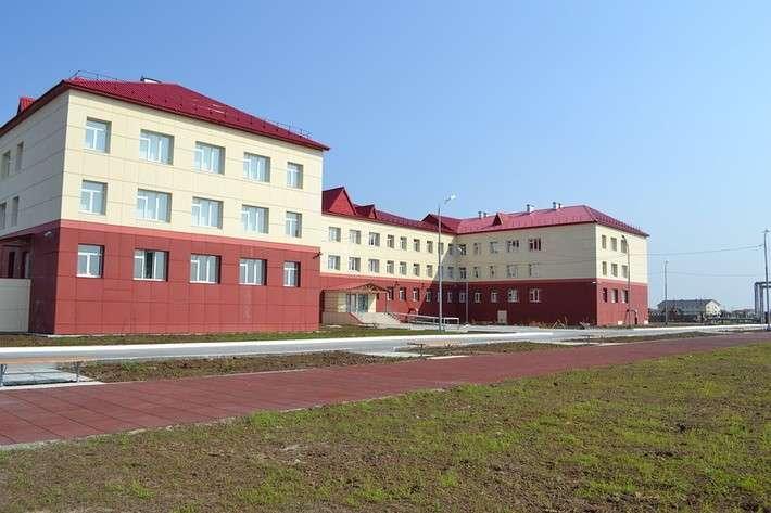 В с.Ныда (Ямал) открылась новая школа 1 сентября, Сделано у нас, школа
