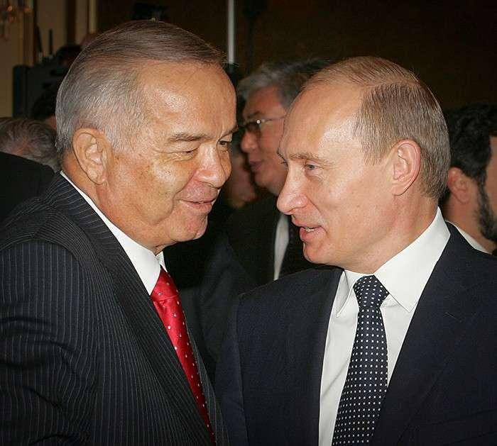 Владимир Путин выразил соболезнования в связи с кончиной узбекского лидера Фото: REUTERS
