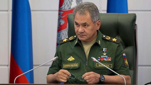 Министр обороны РФ Сергей Шойгу на заседании коллегии Министерства обороны РФ