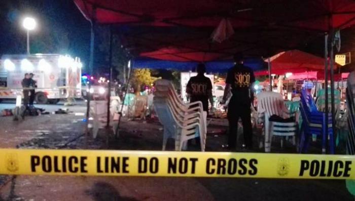 Мощный взрыв на юге Филиппин. Первые кадры с места событий
