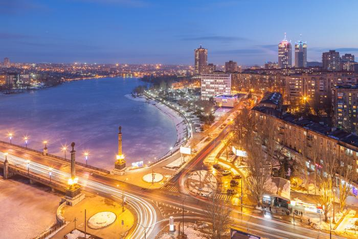 На линии огня - большие города Украины
