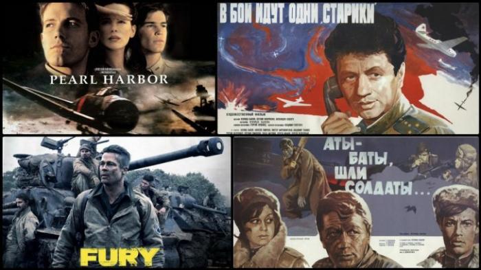 Как показана война в кино по-русски и по-американски