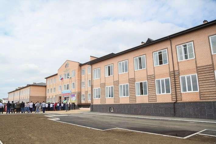 Две новые сельские школы открыли в Ингушетии