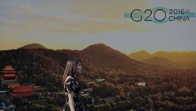 Китайский Ханьчжоу в преддверии саммита G20. Архивное фото