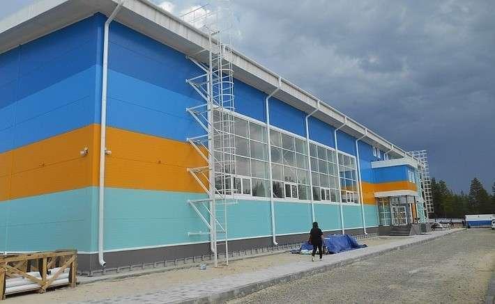 В Ноябрьске открылся спорткомплекс «Вынгапуровский»