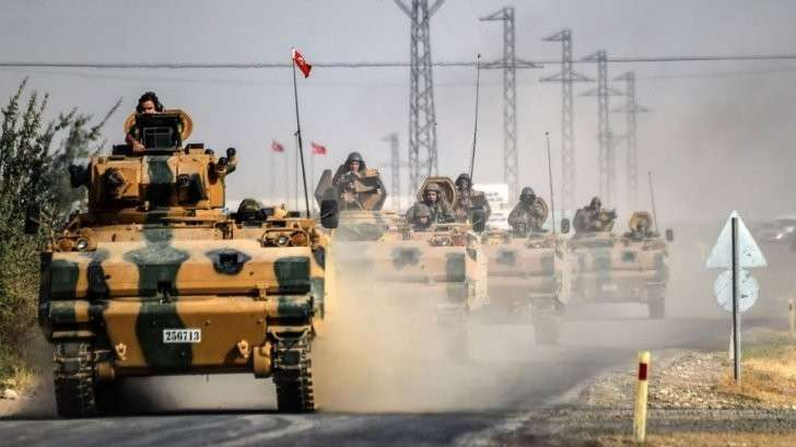 Фронт «американских» курдов против турецкой армии