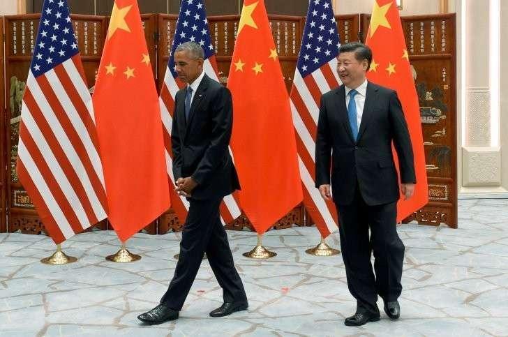 Унизительный приём загорелого в Китае: Обаме не подали трап и отрезали его от сопровождающих