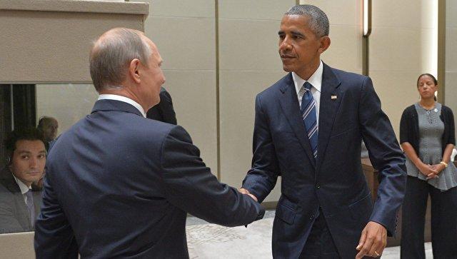 В Ханчжоу проходит встреча Владимира Путина и Обамы