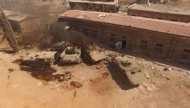 В Сирии продолжается война с бандитами и террористами из США и Англии