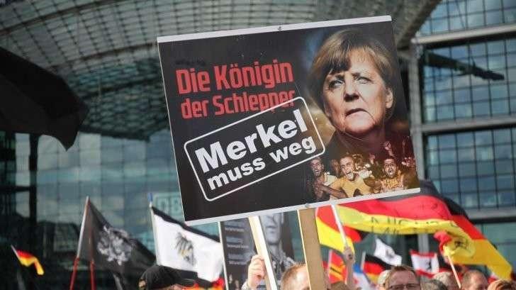 Партия Меркель потерпела поражение на региональных выборах в Германии