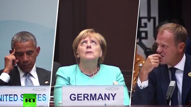 G20 сквозь объектив телекамер: мимика большой политики