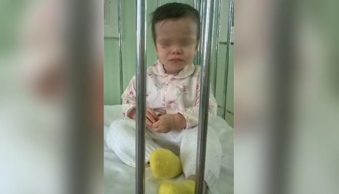 Дочь Натальи во время пребывания в инфекционном отделении