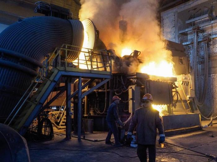 Вторая очередь завода «СтавСталь» запущена в Ставропольском крае
