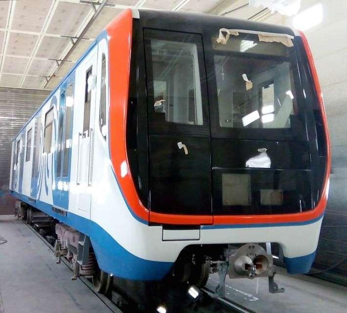 Вагон метро модели 81-765/766/767 «Москва» разработан для Метрополитена