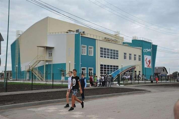4. В Самарской области открыли спортивный комплекс  Сделано у нас, политика, факты