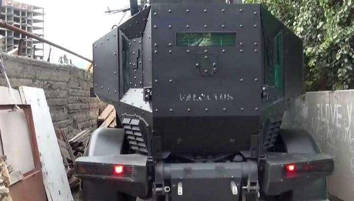 Ликвидировать в Дагестане банду убийц спецназу помог робот
