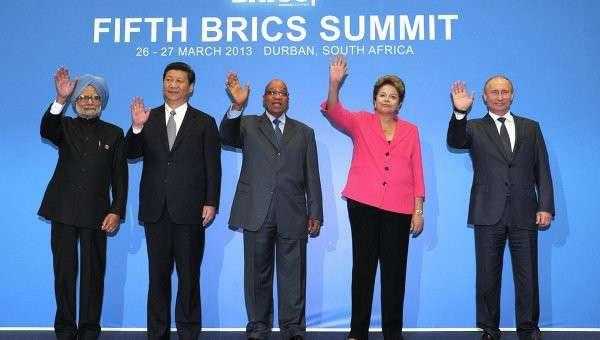 Саммит БРИКС в южно-африканском Дурбане