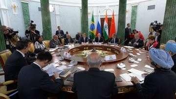 Встреча глав делегаций стран-участниц БРИКС. Архивное фото