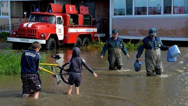 Последствия циклона в Уссурийске
