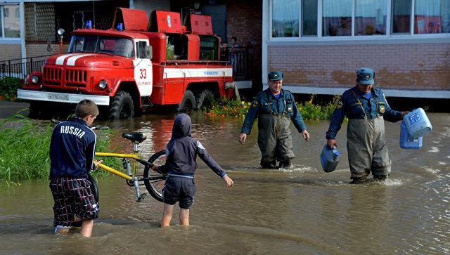 Пострадавшим от тайфуна в Приморье доставили 50 тонн продуктов и воду