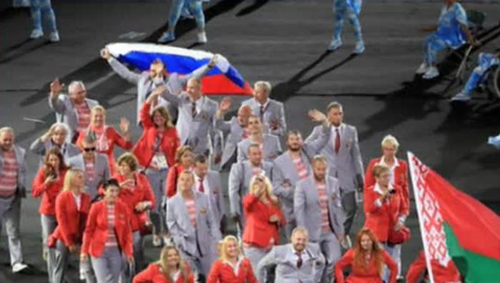 Флаг России на Паралимпиаде: героизм белорусов против «настоящего фашизма»