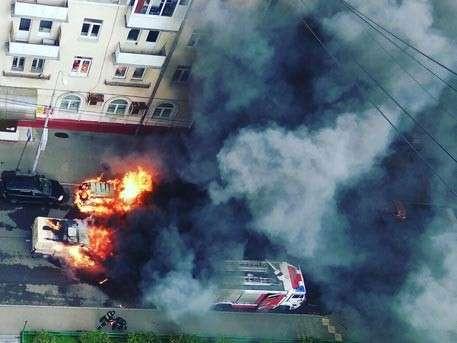 В «Альфа-банке» сообщили подробности о нападении на инкассаторов в Москве