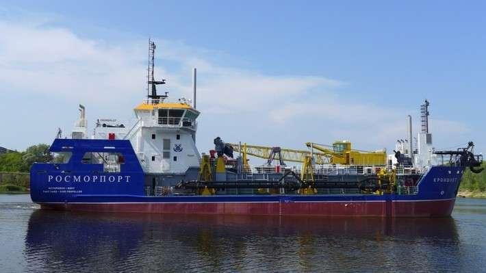 11. Дноуглубительное судно «Кроншлот» передано Росморпорту Сделано у нас, политика, факты
