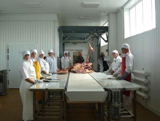 16. В Омской области ввели в эксплуатацию первую очередь нового предприятия по переработке свинины Сделано у нас, политика, факты