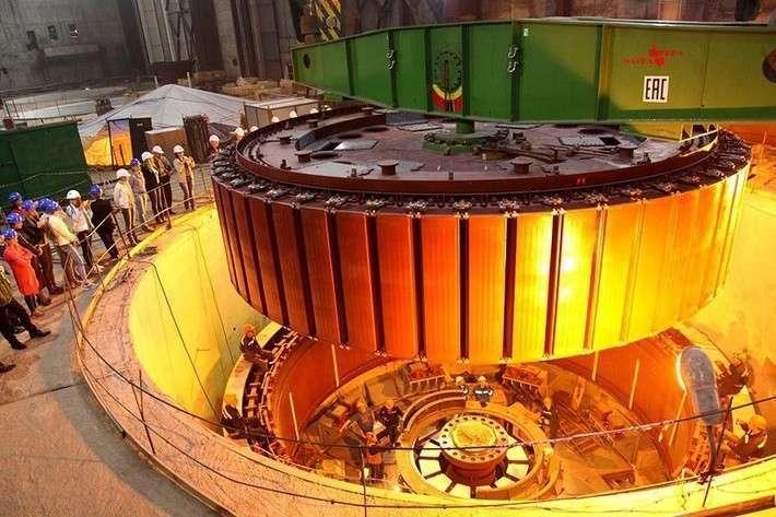 17. На Нижне-Бурейской ГЭС завершен монтаж основных элементов первого гидроагрегата Сделано у нас, политика, факты