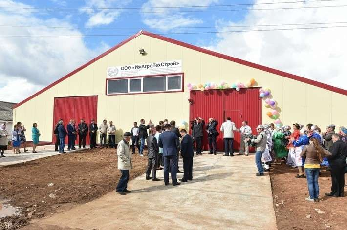 18. В Удмуртии открылась новая ферма Сделано у нас, политика, факты