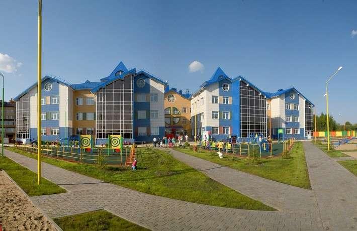 21. В Омске открыт новый детский сад Сделано у нас, политика, факты
