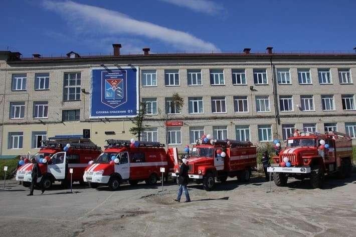 28. Магаданская область получила новые пожарные машины Сделано у нас, политика, факты