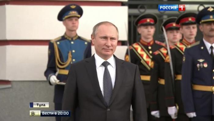 Президент Владимир Путин и промышленники поговорили в Туле о будущем ВПК