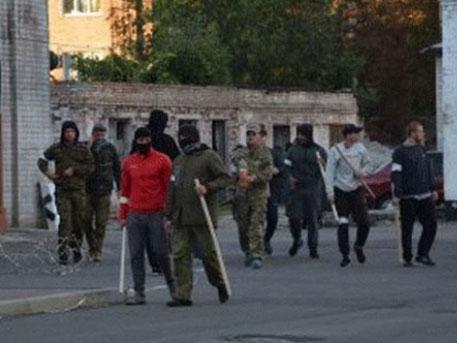 Полсотни человек с битами попытались захватить «Черкассыоблэнерго» на Украине