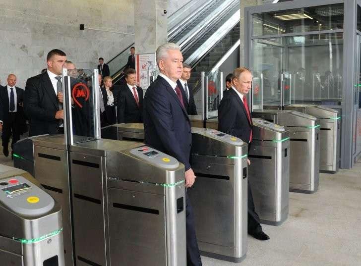Владимир Путин запустил пассажирское движение по Московскому Центральному Кольцу