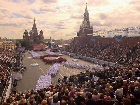 На Красной площади начались торжества в честь Дня города