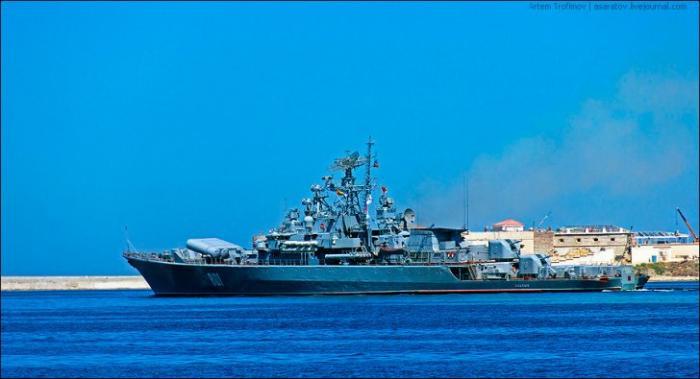 Украинские пограничники «нарвались» на Черноморский флот