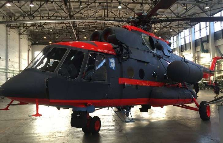 Арктический вертолет Ми-8АМТШ-ВА