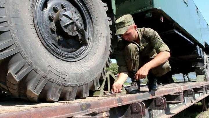 Войска, участвовавшие в учениях «Кавказа-2016» возвращаются в места постоянной дисклокации