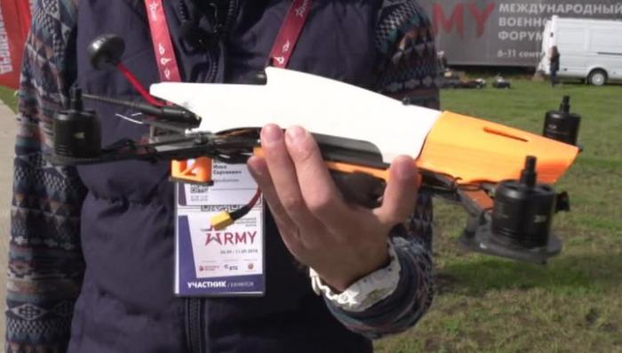 Биатлон дронов: в Алабине состязались российские беспилотники
