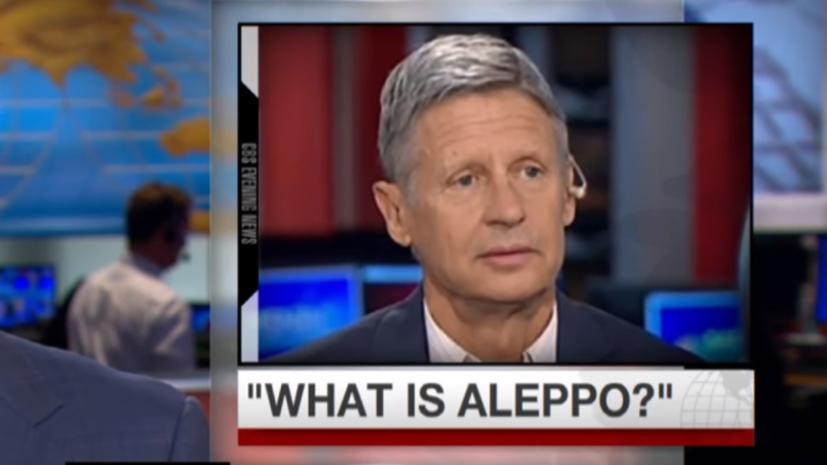 Что такое Алеппо: опрос американских политиков