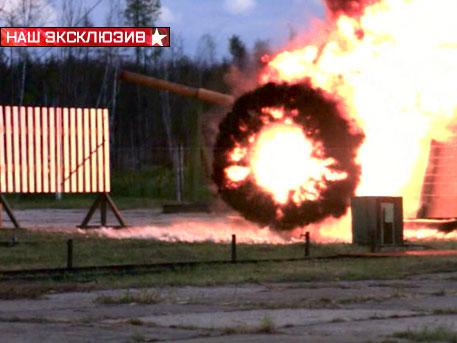 «Арена» уничтожает вражеский снаряд: активная защита Т-90 в действии