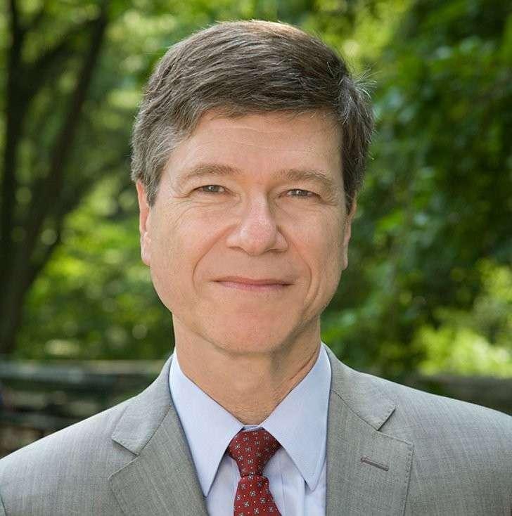 Aмериканский экономист Джеффри Сакс